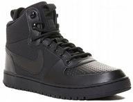 40 Nike COURT BOROUGH MID WINTER Czarne ZIMOWE
