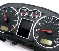 VW GOLF IV 4 BORA RAMKI Хром RINGI ZEGARY Спидометр