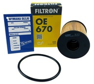 Filtron Масляный фильтр OE670 FiAT OPEl Lancia OE 670