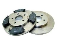 Тормозные диски x2 Колодки FORD MONDEO III MK3 2000-07 TYŁ
