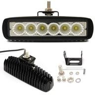 6 Светодиодные лампы 18W СВЕТ Прожектора Фара рабочая 12-24V