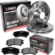 Тормозные диски i Колодки DACO Перед Mazda 6 GG/GY 2002-