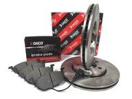 Тормозные диски КОЛОДКИ DACO VW Гольф IV FABIa AUDI a3 256X22