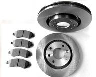Тормозные диски Колодки PEUGEOT 207 307 PARTNER C3 C4 XSARA