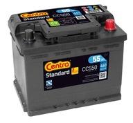 аккумулятор Центры стандарт 12v 55AH 460A CC550