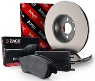 Диски+Колодки передние DACO CITROEN berlingo, C3