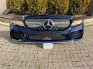 Mercedes C 205 AMG Рейсталинг Бампер przód решeтка Хром