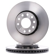 Тормозные диски передние Trw DF2652 audi/seat/vw !!