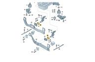 ODBÓJ Резиновый подушка Управления Двигателя AUDI A4 A6 8E0199339