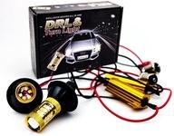 Указатели поворотов + свет Светодиодные лампы 2 В 1 drl Bau15s PY21W