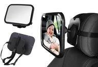 Зеркало do obserwacji dziecka w podróży aucie 360