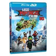 LEGO NINJAGO bajka Blu-ray 3D /film pełnometrażowy