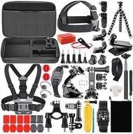 ZESTAW 60w1 AKCESORIA do GoPro MAX HERO 9 8 Black