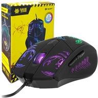MYSZ myszka GAMINGOWA DLA GRACZY RGB LED 1600 DPI