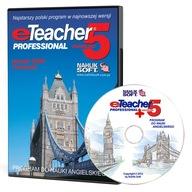 ANGIELSKI - ETEACHER 5 PROFESSIONAL PLUS (BOX, CD)