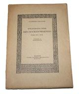 BIBLJOGRAFJA DZIEŁ J. KOCHANOWSKIEGO W. XVI i XVII