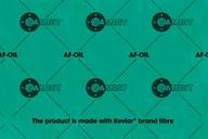 Płyta uszczelkarska Gambit AF-OIL 0,6 mm 500x500