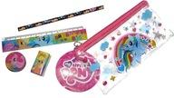 My Little Pony - Piórnik szkolny + akcesoria 4szt