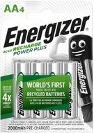 Akumulatorki ENERGIZER Power Plus AA R6 2000mAh x4