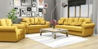 Zestaw Wypoczynkowy LION 3+2+1 Sofa Wersalka Fotel