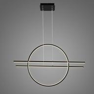 ŁÓDŹ Altavola lampa wisząca LINEA No.3 3K czarna