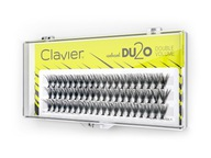 KĘPKI RZĘSY CLAVIER DU2O DOUBLE VOLUME 10 mm