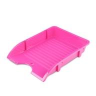 Szufladka na biurko DONAU niełamliwa A4 różowy
