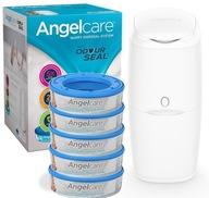 ANGELCARE POJEMNIK KOSZ Zużyte Pieluchy 5 WKŁADÓW