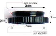 ADAPTER macro - C-CS CCTV C-Mount m4/3, NEX, FX...