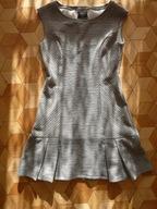 TROLL ciepła sukienka szara rozm. 38