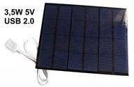 Ładowarka solarna USB panel fotowoltaiczny bateria