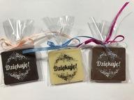 Dziękuję!czekoladki dla gości naTwoją uroczystość