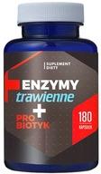 Enzymy Trawienne + Probiotyk (180 kaps.)