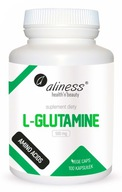 Aliness L-Glutamine L-Glutamina 500mg JELITA 100k