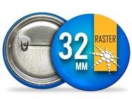 Button przypinki znaczki z nadrukiem 32mm - 50szt