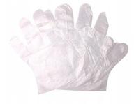 Rękawiczki foliowe HDPE 100szt