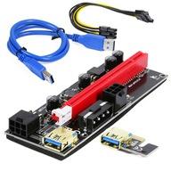 RISER 009S GOLD USB3.0 PCI-E PCI 1x-16x SATA TAŚMA