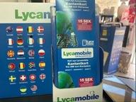 LycaMobile SE +46 Szwecja Starter Prepaid SIM Card