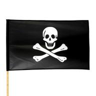 Flaga PIRACKA 70 x 112cm PIRAT czaszka