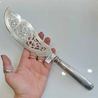 Nóż łopatka srebro 0,750 - 12 łutów do ryb 166,5g