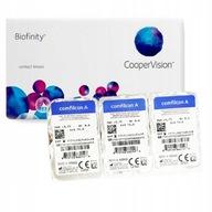 Soczewki Biofinity 3 szt. - miesięczne