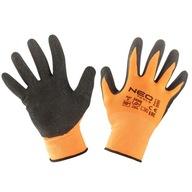 Rękawice robocze poliester rozm 10 NEO 97-641-10