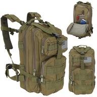 Plecak Taktyczny Wojskowy Militarny Survival 30l Z