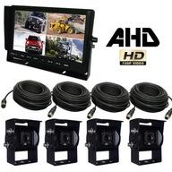 Zestaw Expert PRO AHD 4 x kamera cofania 720P QUAD