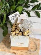 Gift box Ferrero na prezent koszyk ze słodyczami
