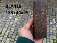 Drewno stabilizowane bloczek knifemaking BLA418