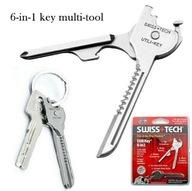 MULTITOOL SWISS TECH Utili-Key KLUCZ NIEZBĘDNIK