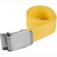 Pas balastowy parciany 150 cm z klamrą żółty