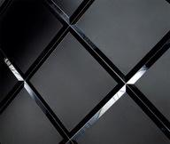 Płytki fazowane 30x30 czarny mat Glamour faza 10mm