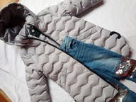 Paka zestaw dla dziewczynki 110 Reserved 3szt zima